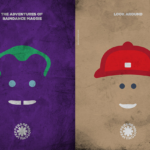 Posters minimalistas do Red Hot Chili Peppers