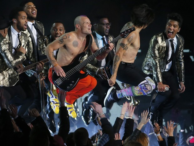 Bruno Mars and Chili Peppers