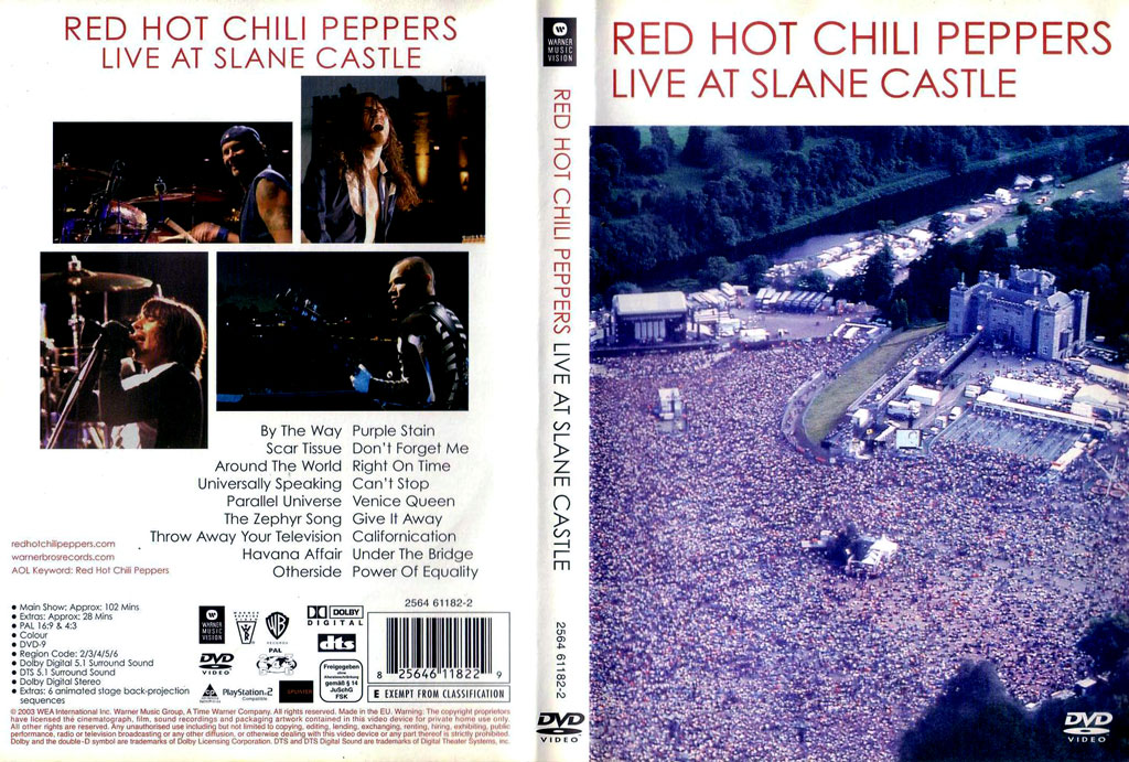 Red Hot Chili Peppers_Live_At_Slane_Castle