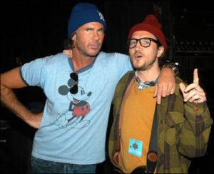 Chad e John Frusciante